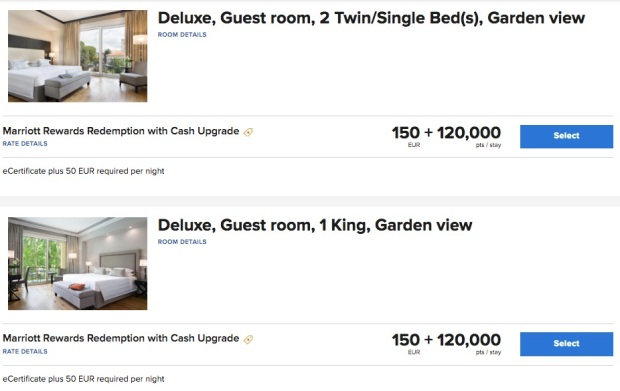 Marriott Florence Rooms