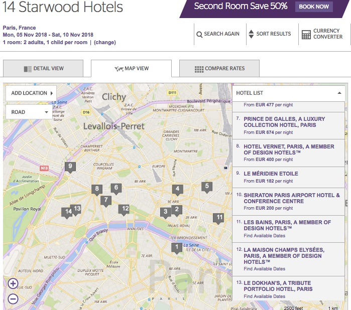 SPG Map Paris